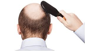 Hair treatment with brush